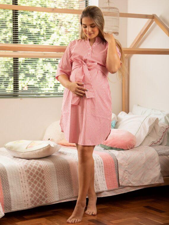 vestido-rayas-maternidad